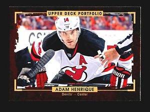 2015-16 Upper Deck Portfolio Hockey  Base  #132  Adam Henrique