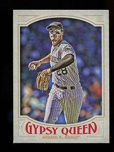 2016 Topps Gypsy Queen Baseball  Base  #17  Nolan Arenado