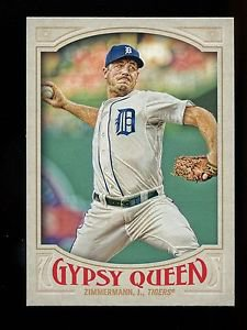 2016 Topps Gypsy Queen Baseball  Base  #46  Jordan Zimmermann