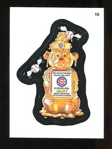 2016 Topps MLB Wacky Packages  #16  Cubs Honey