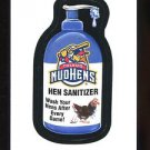 2016 Topps MLB Wacky Packages  #76  Toledo Mud Hens Hen Sanitizer
