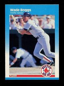 1987 Fleer Baseball  #29  Wade Boggs
