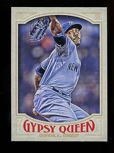 2016 Topps Gypsy Queen Baseball  Base  #22  Aroldis Chapman