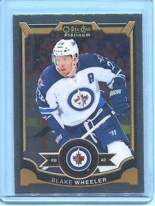 2015-16 OPC O-Pee-Chee Hockey Platinum  Base  #57  Blake Wheeler