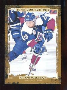 2015-16 Upper Deck Portfolio Hockey  Base  #38  Nathan MacKinnon