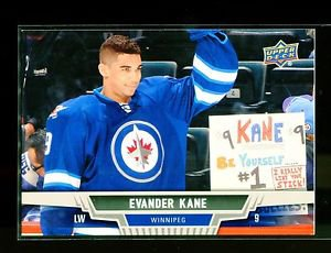 2013-14 Upper Deck Hockey Series 1 OVERSIZE #143  Evander Kane