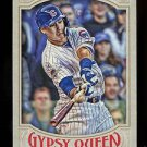2016 Topps Gypsy Queen Baseball  Base  #257  Javier Baez