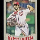 2016 Topps Gypsy Queen Baseball  Base  #42  Gio Gonzalez