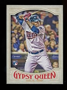 2016 Topps Gypsy Queen Baseball  Base  #16  Miguel Sano