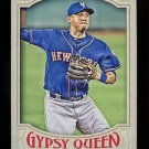 2016 Topps Gypsy Queen Baseball  Base  #222  Wilmer Flores