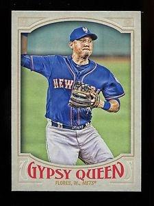 2016 Topps Gypsy Queen Baseball  Base  #222  Wilmer Flores