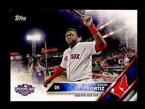 2016 Topps Opening Day Baseball  #OD-138  David Ortiz