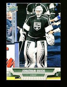 2013-14 Upper Deck Hockey Series 1 OVERSIZE #182  Jonathan Quick