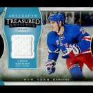 2015-16 Upper Deck Artifacts Hockey Treasured Swatches #TS-CK  Chris Kreider
