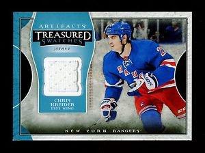 2015-16 Upper Deck Artifacts Hockey Treasured Swatches #TS-CK  Chris Kreider
