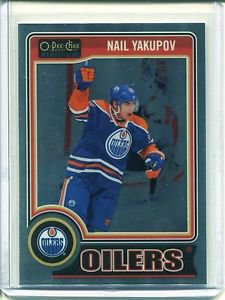 2014-15 OPC O-Pee-Chee Hockey Platinum Base  #98  Nail Yakupov