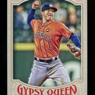 2016 Topps Gypsy Queen Baseball  Base  #90  Carlos Correa