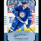 2015-16 Upper Deck MVP Hockey  #187  Andrew Copp  Rookie   SP