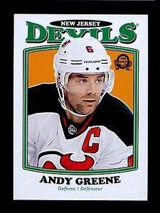 2016-17 OPC O-Pee-Chee Hockey  RETRO  #369  Andy Greene