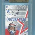 08-09 ITG Ultimate Memorabilia UM9 Future Star Autograph  Dustin Tokarski  24/30