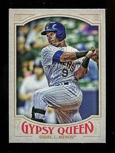 2016 Topps Gypsy Queen Baseball  Base  #293  Jean Segura