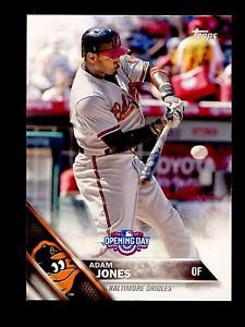 2016 Topps Opening Day Baseball  #OD-76  Adam Jones