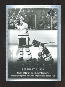 2015-16 Upper Deck SP Authentic  All-Time Moments  #132  Darryl Sittler