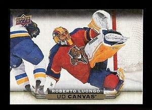 2015-16 Upper Deck Hockey Series 1 UD Canvas  #C37  Roberto Luongo