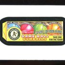 2016 Topps MLB Wacky Packages  #2  Athletics Game Ball Gumballs