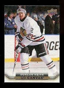 2015-16 Upper Deck Hockey Series 1 UD Canvas  #C20  Duncan Keith