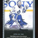 2015-16 Upper Deck SP Authentic  All-Time Moments  #142  Felix Potvin