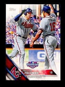 2016 Topps Opening Day Baseball  #OD-63  Freddie Freeman