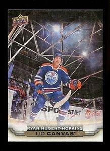 2015-16 Upper Deck Hockey Series 1 UD Canvas  #C33  Ryan Nugent-Hopkins