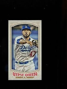 2016 Topps Gypsy Queen Baseball  Mini  #292  Howie Kendrick