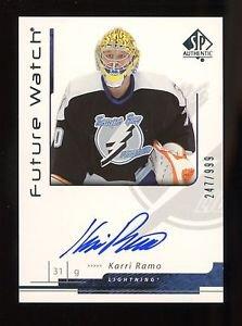 2006-07 Upper Deck SP Authentic Future Watch Autograph #175  Karri Ramo  247/999