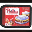 2016 Topps MLB Wacky Packages  #37  Phillies Cheese Steaks