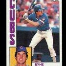 1984 Topps Baseball  #596  Ryne Sandberg