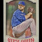 2016 Topps Gypsy Queen Baseball  Base  #124  Jon Lester