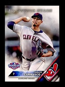 2016 Topps Opening Day Baseball  #OD-85  Carlos Carrasco