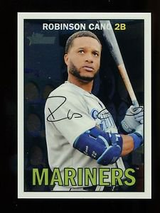 2016 Topps Heritage Baseball  Chrome Parallel  #THC-432  Robinson Cano  812/999