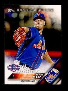 2016 Topps Opening Day Baseball  #OD-176  Steven Matz