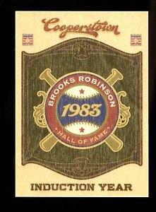 2012 Panini Cooperstown Baseball Induction Year 1983  #14  Brooks Robinson