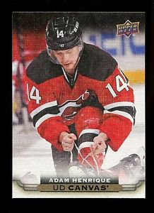 2015-16 Upper Deck Hockey Series 1 UD Canvas  #C54  Adam Henrique