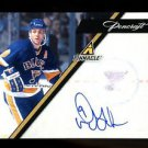 2010-11 Panini Hockey Pinnacle Pencraft Autograph  #25  Doug Gilmour  34/50
