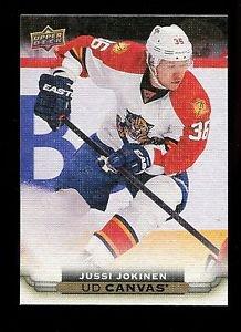 2015-16 Upper Deck Hockey Series 1 UD Canvas  #C38  Jussi Jokinen
