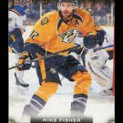 2015-16 Upper Deck Hockey Series 1 UD Canvas  #C51  Mike Fisher