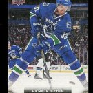 2015-16 Upper Deck Hockey Series 1 UD Canvas  #C85  Henrik Sedin