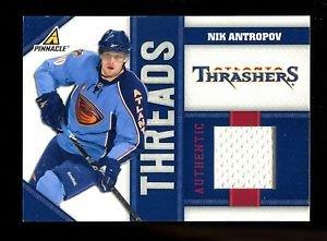 2010-11 Panini Hockey  PINNACLE  Threads  #NA  Nik Antropov  443/499