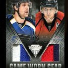 2013-14 Panini Hockey Titanium  Game-Worn Gear #GD-BB  Berglund  Backstrom 20/50