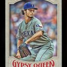 2016 Topps Gypsy Queen Baseball  Base  #85  Yu Darvish